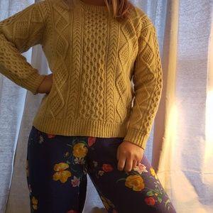 VINTAGE hand knit